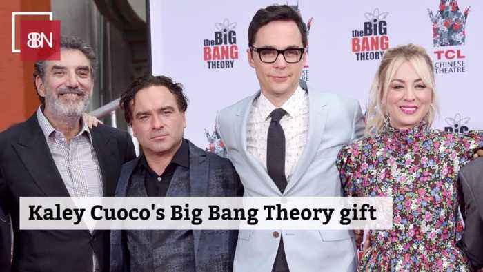 Kaley Cuoco Gives Out A Heartwarming Gift To Cast Members