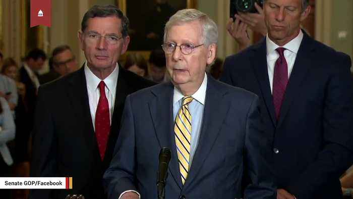 Mitch McConnell Calls Trump's Syria Decision A 'Grave Mistake'