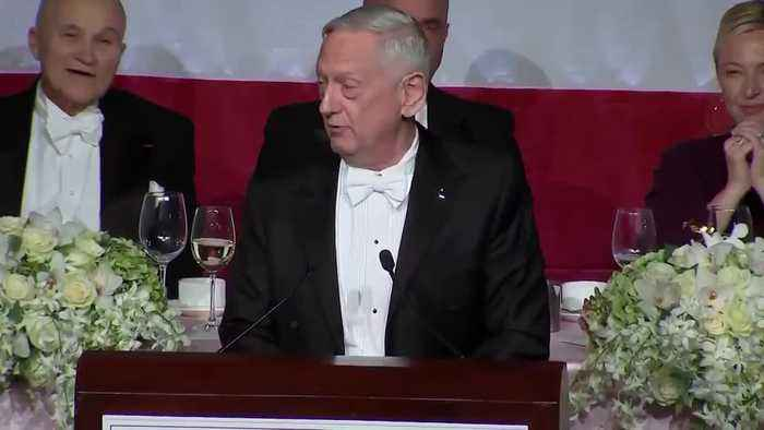 Mattis Says He's Honored To Be Named 'World's Most Overrated General' By POTUS