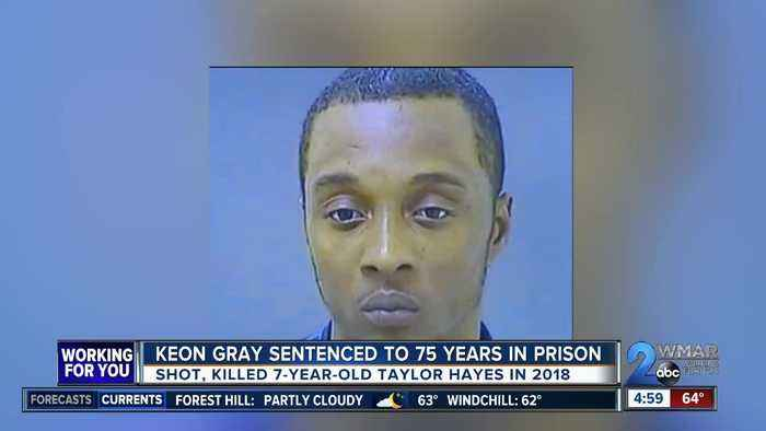 Keon Gray sentenced to 75 years in prison