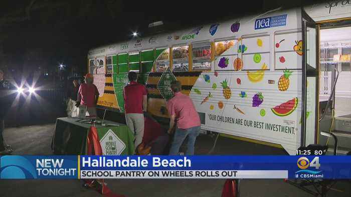 School Pantry On Wheels Rolls Out