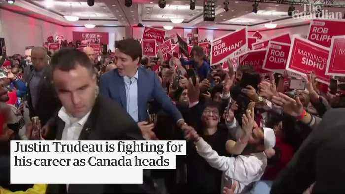 Canadian elections: can Justin Trudeau hold on to power?