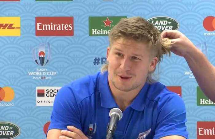 The mullet stays because it makes me faster, says NZ's Goodhue