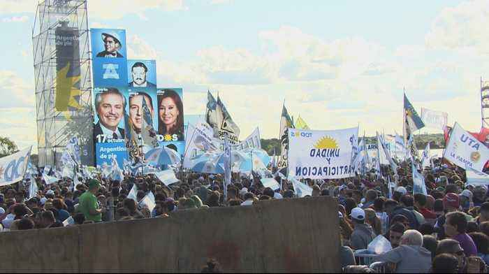 Argentineans mark day of loyalty to former leader Juan Peron