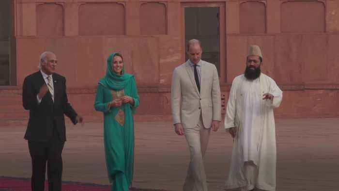 William and Kate in Pakistan - the highlights