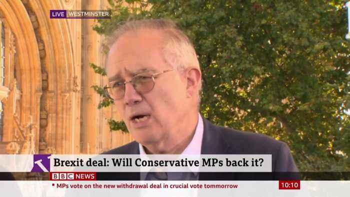 John Baron Claims Boris Johnson Deal Opens Door To 2020 No-Deal Crash-Out