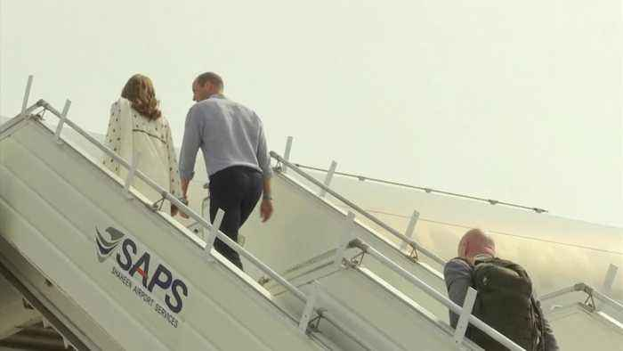 Kate and William fly back to Islamabad after thunderstorm drama