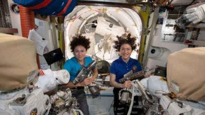 All-women spacewalk makes history