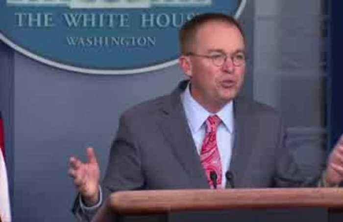 Mulvaney's words on Ukraine undercut impeachment strategy, rattle allies