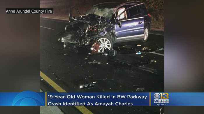 19-Year-Old Woman Killed In BW Parkway Crash Identified As Amayah Charles