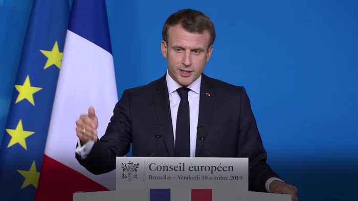 Emmanuel Macron: No Brexit delay after October 31