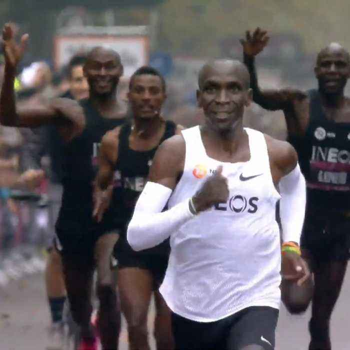 How Kenyan legend Eliud Kipchoge used help from other elite runners to make history