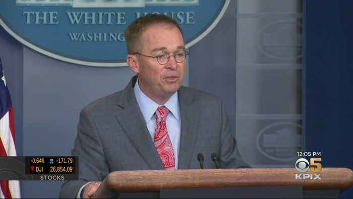 White House Goes Into Damage Control Mode After Chief Of Staff's Comments On Ukraine