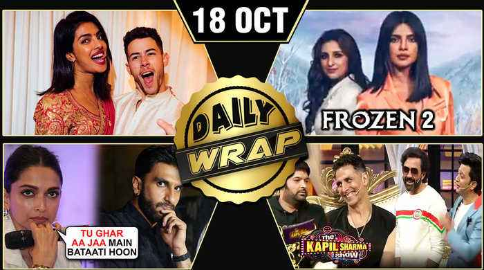 Priyanka Nick Karva Chauth, Parineeti - Priyanka In Frozen 2, Alia Bhatt SADAK 2 | Top 10 News