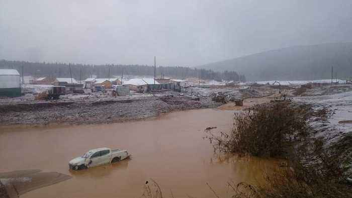 Rescue continues after dam collapse in Siberia