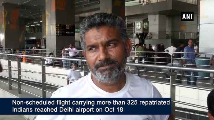 More than 325 Indians deported by Mexico arrive in New Delhi