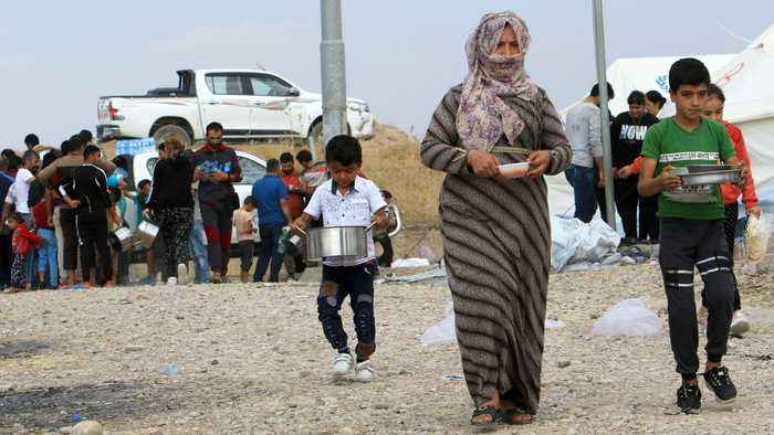 More than 3,000 Syrian refugees arrive in northern Iraq