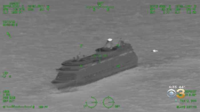 Coast Guard Rescues Man Who Had Stroke Symptoms On Cruise Ship Off Coast Of Atlantic City