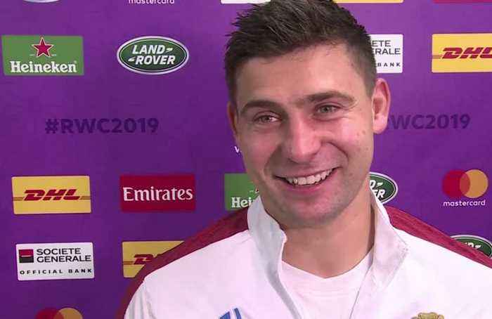 Jonny May praised after England rout Australia in World Cup quarter-finals