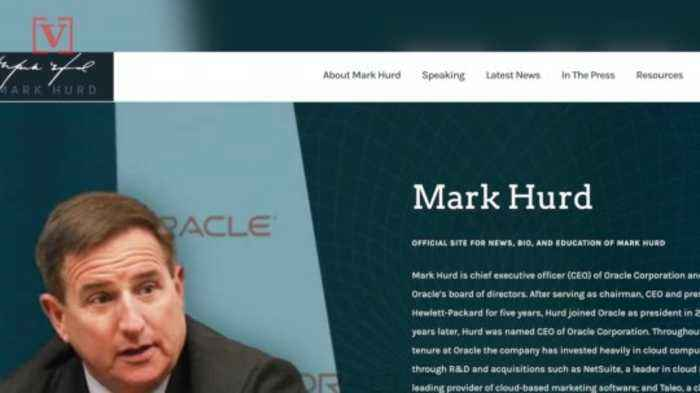 Oracle CEO Mark Hurd Has Died