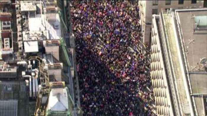Thousands take part in 'Super Saturday' protests