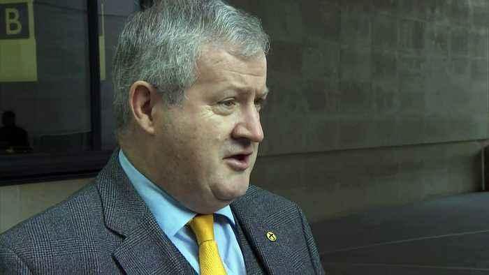 Ian Blackford: Johnson 'not acting like a PM'