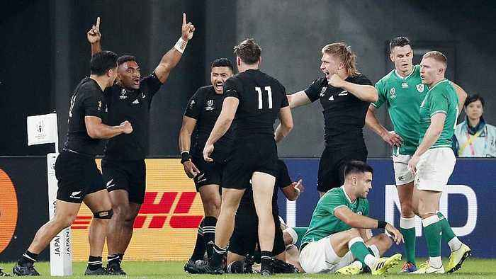 Rugby World Cup: England face All Blacks as both sides ease into semi-finals