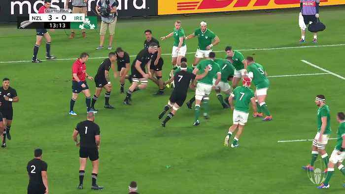 Extended Highlights: New Zealand v Ireland
