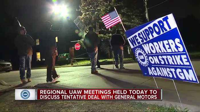 Local meetings begin Sunday to vote on UAW-GM tentative agreement