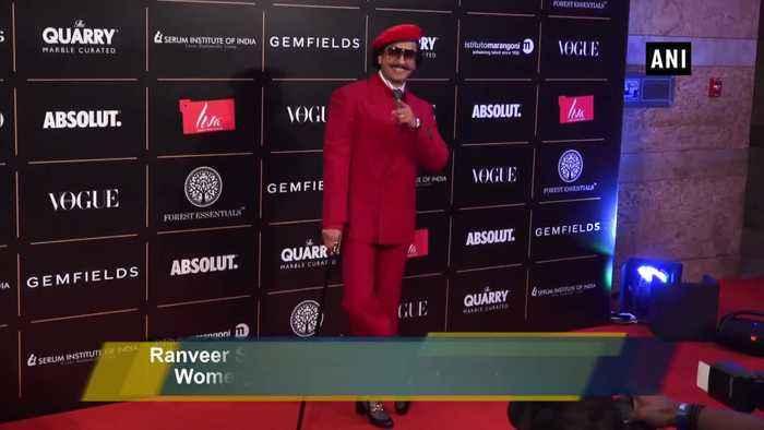 Ranveer Singh, Katrina Kaif dazzle at 'Vogue Women Of The Year Awards 2019