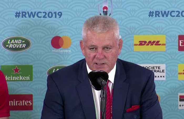 France were unlucky but Wales never give up - Gatland