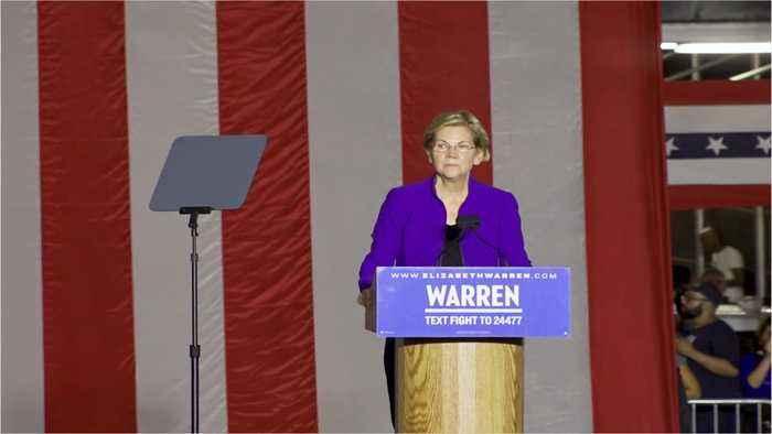 Could Warren's Ban On Big Money Help Trump?
