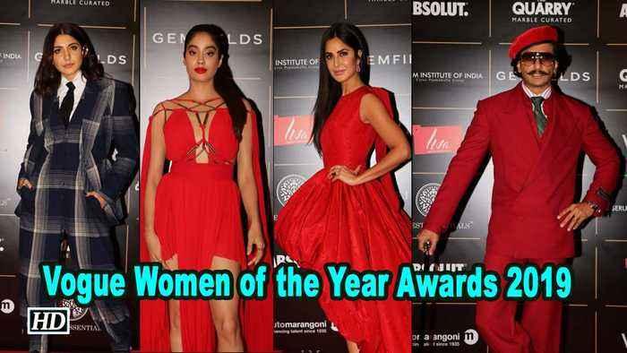 Vogue Women of the Year Awards   Katrina Kaif, Anushka Sharma dazzle on red carpet
