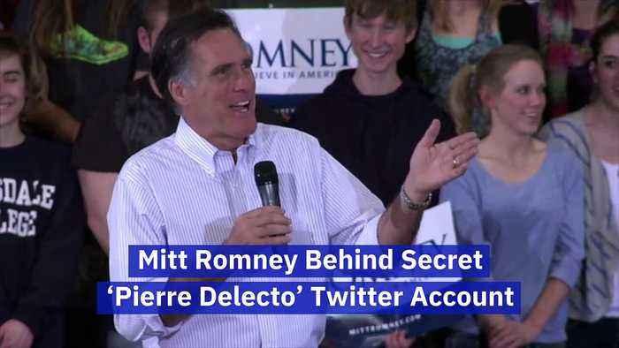 Mitt Romney Behind Secret 'Pierre Delecto' Twitter Account