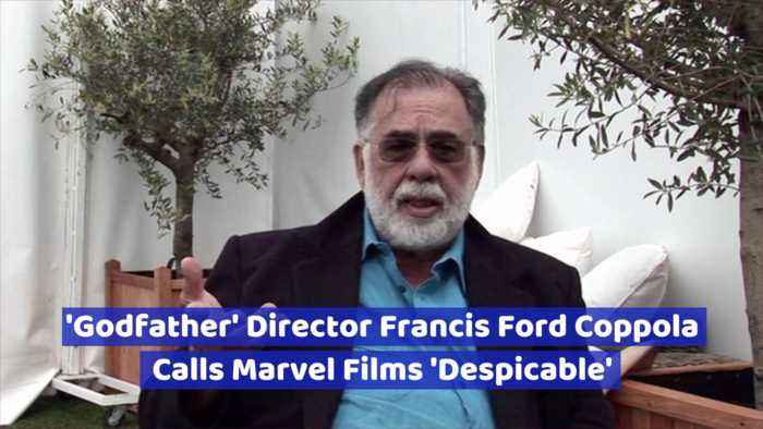 Director Francis Ford Coppola Doesn't Like Marvel Movies Either