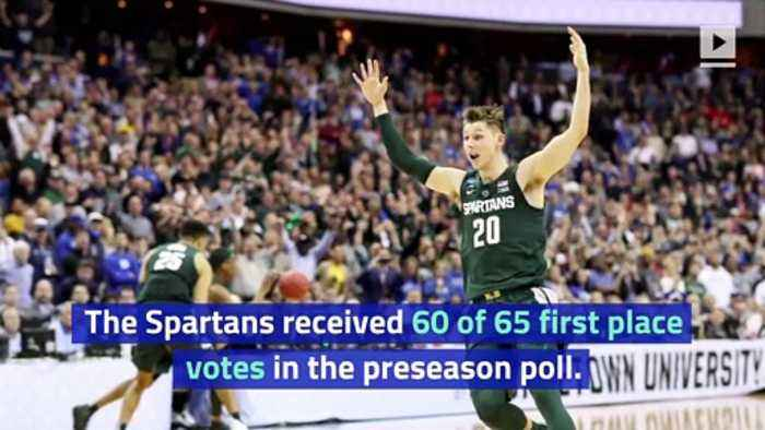 Michigan State Tops AP Preseason Men's Basketball Poll for First Time