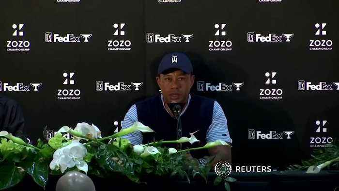 Woods says he's ready for action after surgery
