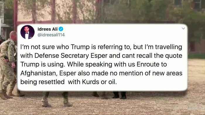 Esper in Afghanistan as U.S. looks to kickstart Taliban talks