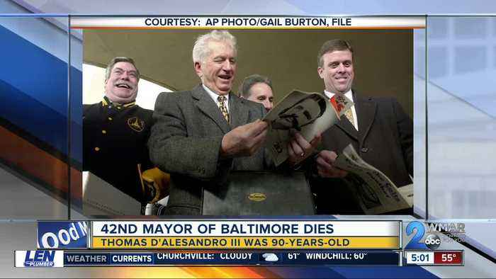 42nd Mayor of Baltimore, brother of Nancy Pelosi dies at 90