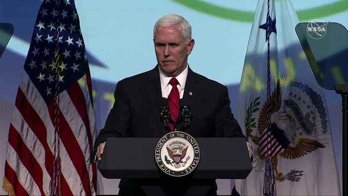 Pence says Space Force will 'soon' be reality