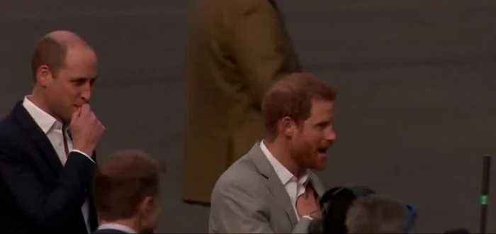 Prince Harry admits tension with brother