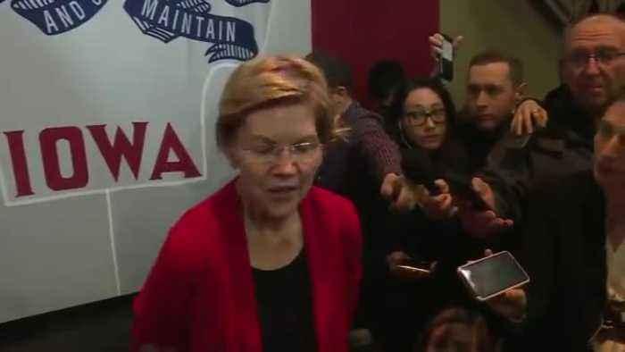 Elizabeth Warren Threatens To Cut Off Aid To Israel