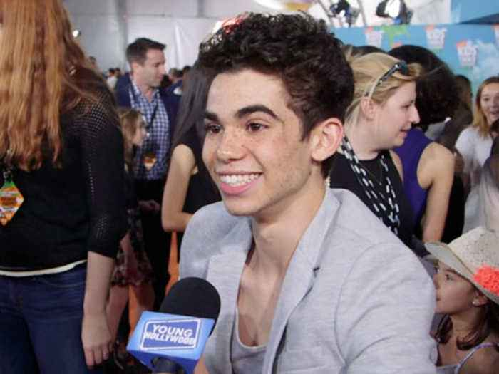 Cameron Boyce on Getting Slimed at the KCAs