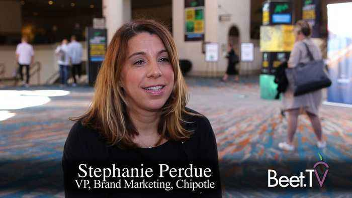 Multiple Media Channels Drive the Flywheel: Chipotle's Perdue