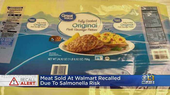 Meat Sold At Walmart Recalled Due To Salmonella Risk
