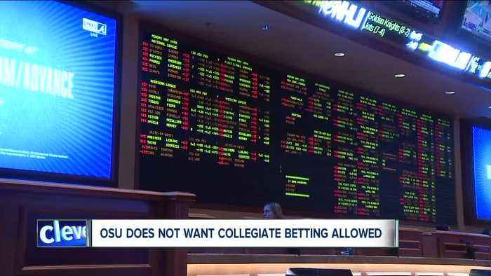 Schools ask lawmakers to ban betting on collegiate sports