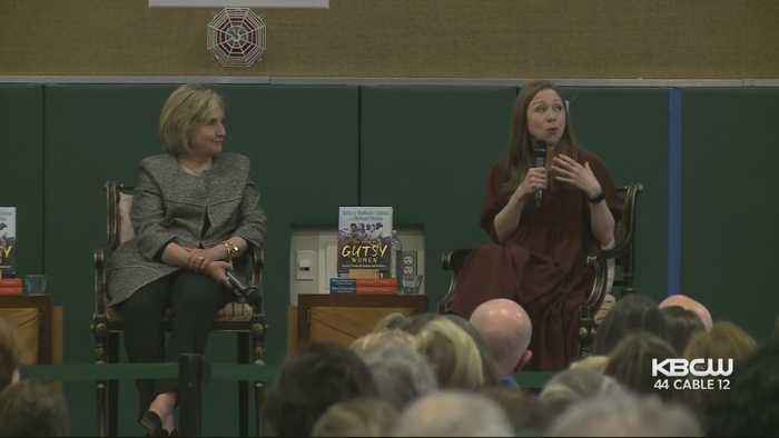 Hillary Clinton And Daughter Chelsea Discuss Their New Book In San Francisco