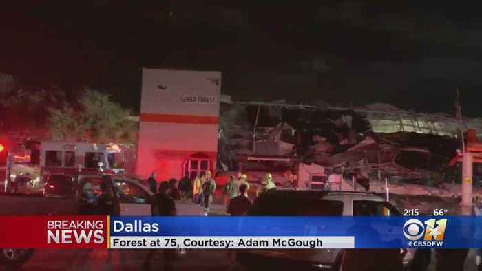 Storm Damage Seen Throughout North Texas, Tornado Touches Down In Dallas