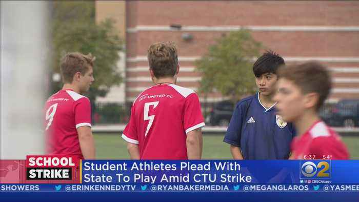 Student Athletes Plead With State To Play In Playoffs Amid CTU Strike