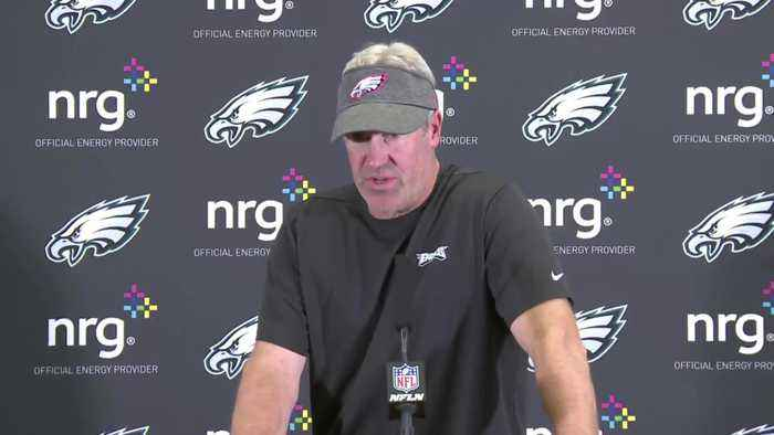 Doug Pederson Speaks To Media Following 37-10 Loss To Cowboys